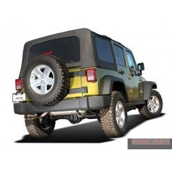 Układ wydechowy BORLA Jeep Wrangler JK / JKU 07 - 11