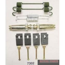 Zestaw montażowy szczęk hamulcowych  7302BBP