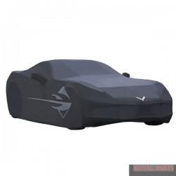 Oryginalny pokrowiec na zewnątrz Chevrolet Corvette szary