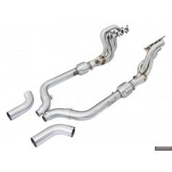 Kolektor wydechowy + katalizatory aFe Ford Mustang 5.0